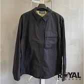 Palladium 黑色 收納 防風 長袖 外套 男女款 NO.H3385【新竹皇家 105099-008】