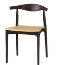 【南洋風休閒傢俱】單椅系列 - 艾納pp塑料實木餐椅 休閒椅 復古洽談椅 CM1070-6