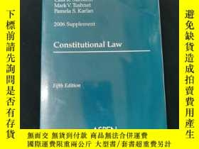 二手書博民逛書店2006罕見Supplement Constitutional LawY312250 PUBLISHER S