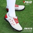 高爾夫球鞋韓國時尚女鞋雙重防水活動釘運動鞋 女裝印花潮鞋