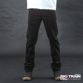 Big Train 咖啡色斜插袋絨布褲-男-咖啡-BM2008