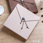 覆膜DIY手工相冊影集寶寶成長情侶自粘紀念本簡約布面創意禮物 QG6225『優童屋』