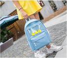 預購-女韓版原宿雙肩包  高中女學生書包