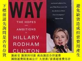 二手書博民逛書店Her罕見Way the hopes and Ambitions of Hillary Rodham Clinto