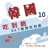 現貨 韓國SKT 10日旅遊網卡 不降速 4G高速飆網韓國網卡吃到飽/南韓網卡/網路卡/韓國上網卡/韓國wifi