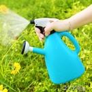 灑水壺澆花壺小型噴壺家用噴水壺園藝養花工具小噴霧器氣壓式澆水LX 夏季上新