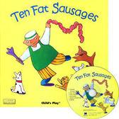 『鬆聽出英語力--第7週』- TEN FAT SAUSAGES  /書+CD (JY版)《主題:歌謠故事》