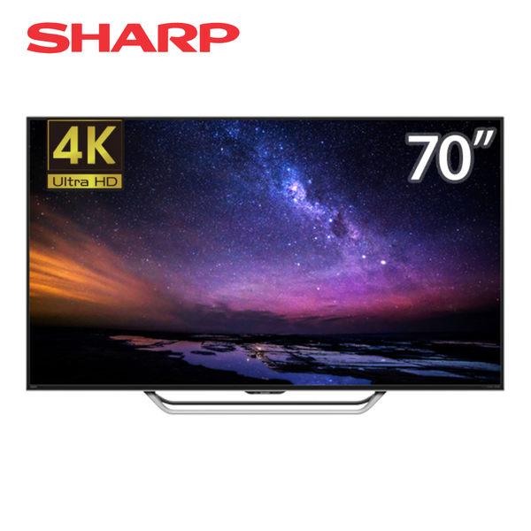 SHARP夏普 70吋 4K Ultra HD Android TV 日本製 4T-C70AM1T