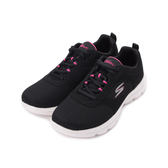 SKECHERS GO WALK EVOLUTION ULTRA 綁帶健走鞋 黑桃 15734BKPK 女鞋