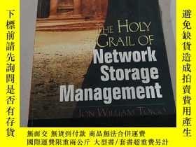 二手書博民逛書店THE罕見HOLY GRAIL OF Network stora