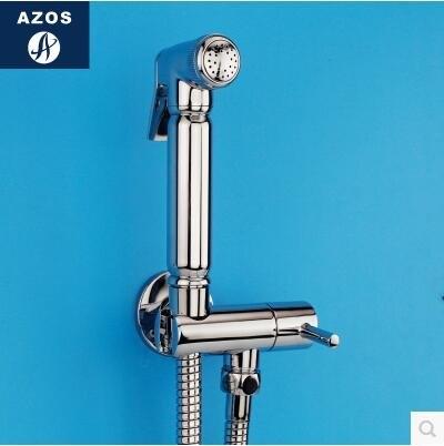 德國AZOS 增壓手持花灑婦洗器淋浴噴頭花灑淋浴