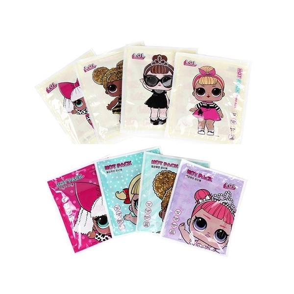 韓國 LOL 驚喜娃娃暖暖包(單片裝) 隨機出貨【小三美日】