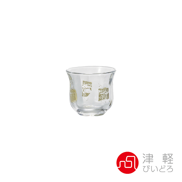 日本津輕 德利金箔清酒杯-共2色