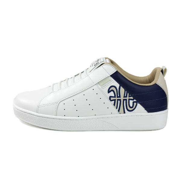 ROYAL ELASTICS 懶人鞋 休閒鞋 白/深藍 男鞋 02094-050 no580