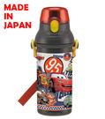 里和家居 迪士尼汽車總動員 日本製單手彈蓋直飲水壺480ml 飲料壺 CARS 閃電麥坤 隨手杯