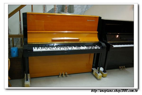 【HLIN漢麟樂器】好評網友推薦-超新二手中古山葉yamaha三號鋼琴-中古二手鋼琴中心07