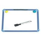《享亮商城》A-1109 高級藍框(迷你型)小白板 0910