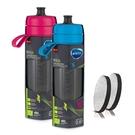 Brita 運動濾水瓶兩件組0.6L 含濾芯片4片