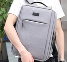 筆電包 電腦雙肩背包15.6寸適用蘋果macbook戴爾華為小清新手提男TW【快速出貨八折下殺】