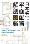 日本名宅平面配置解剖圖鑑