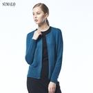 【ST.MALO】法式香榭幼羊駝針織外套-1811WC-翡翠綠