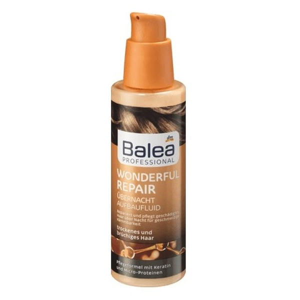 德國DM Balea 隔夜修復美髮精華液/極致專業秀髮修護系列100ml