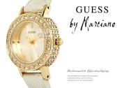 【完全計時】手錶館│美國時尚精品配件-GUESS金色細緻名媛 閃鑽金GWW90074L1