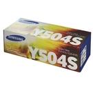 【高士資訊】Samsung 三星 CLT-Y504S 原廠 黃色 碳粉匣 適用CLX-4195FN/SL-C1860FW