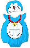 貝比幸福小舖【01699-A】歐美百搭可愛卡通造型無袖包屁衣+帽子大集合-06小叮噹