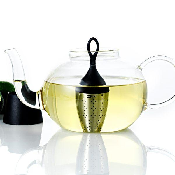 德國AdHoc 壺用漂浮濾茶器 泡茶 品茗配件 茶器 午茶時光 休閒聚餐 不鏽鋼 好生活