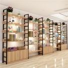 展示櫃產品化妝品超市貨架展示架倉儲家用鞋店鞋架包包貨櫃置物架ATF 美好生活居家館