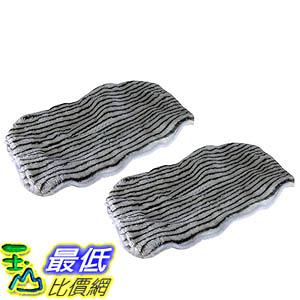 [106美國直購] Crucial Vacuum 2 Bissell Steam Mop Zebra Print Deluxe Microfiber Mop Pad Part 203-2158 2032158