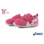 ASICS亞瑟士 IDAHO SUKU 小童 寶寶運動鞋 日本機能學步鞋 足弓墊 街頭滑板印花 A9177#粉紅◆奧森鞋業