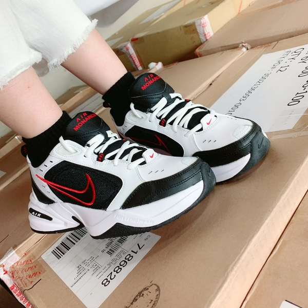 IMPACT Nike Air Monarch IV 白 黑 紅 藍 老爹鞋 慢跑 復古 415445-101 415445-102
