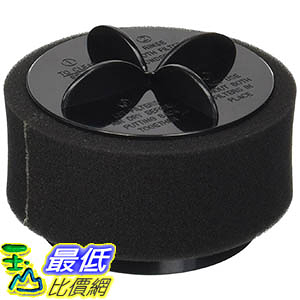 [106美國直購] Bissell Style 9/10/12 Washable & Reusable Pleated Filter with Outer Foam Filter; Fits Bissell 2031183