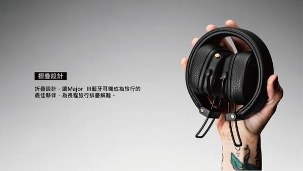 【愛拉風】 現貨供應 Marshall Major III BT 藍牙耳罩式耳機 藍牙耳機 經典黑 MAJOR3