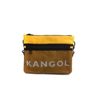 KANGOL 側背包 黃色 6125170360 noC77