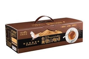【台塩生技 tybio】台灣鹽山咖啡禮盒(3合1)(18包/盒X3入)