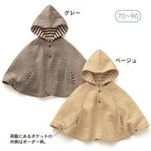 嬰兒披風外貿出口日本千家寶寶兒童純棉空氣層斗篷、披風童外套70-100 限時特惠