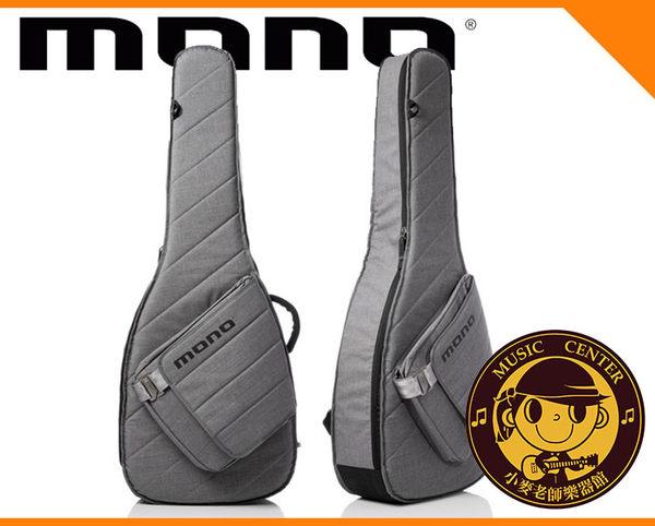 【小麥老師樂器館】MONO M80-SAD-ASH 木吉他 民謠吉他袋 吉他袋 背袋 琴袋 吉他