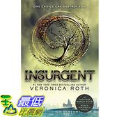 [104美國直購] 美國暢銷書排行榜 Insurgent (Divergent Series) Paperback