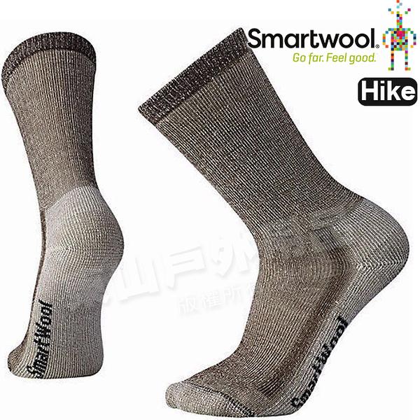 Smartwool Hike Mid SW130-242深棕 男中級減震型徒步中長襪 美麗諾羊毛襪/戶外襪機能排汗襪/健行襪