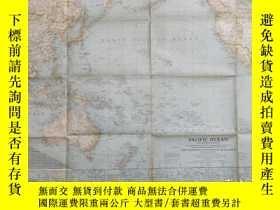 二手書博民逛書店National罕見Geographic國家地理雜誌地圖系列之1943年9月 Pacific Ocean and