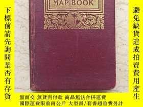 二手書博民逛書店Putnam s罕見Handy Map Book(估計爲1921