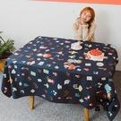 桌布美式桌布復古格子簡約北歐文藝布藝長方形北歐風餐【古怪舍】