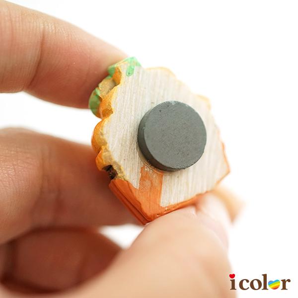i color 萬聖派對 甜點南瓜造型裝飾磁鐵