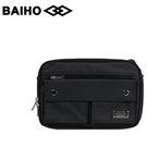 【橘子包包館】BAIHO 台灣製造 多功能 側背包/斜背包 BHO501 黑色