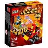 LEGO樂高 SUPER HEROES 超級英雄系列 Mighty Micros: Iron Man vs. Thanos_LG76072