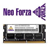 Neo Forza 凌航 NB-DDR4 3200/8G 筆記型RAM(原生)