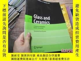 二手書博民逛書店glass罕見and ceramics vol 70 80451